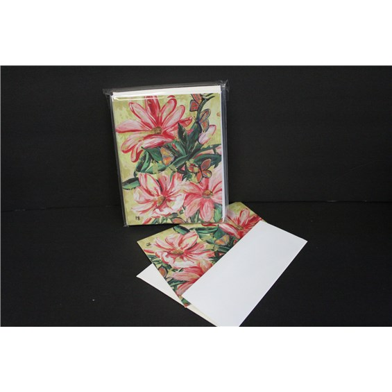 5.5x4.5_notecards,_10pk_Pink_Flowers_x