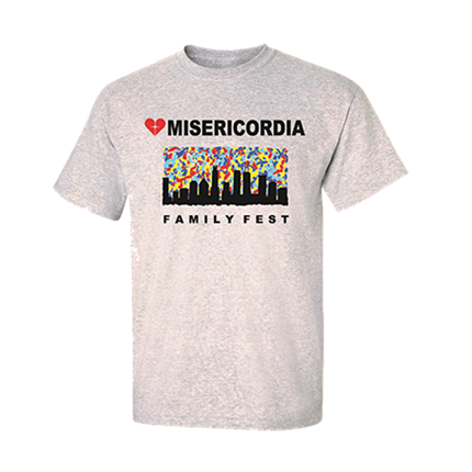 Misericordia_-_Family_Fest_-Adult_Unisex_T-Shirt